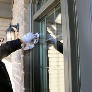 Residential exterior window cleaning